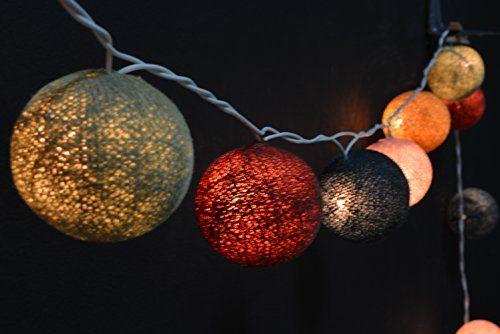 35x Brown, Green Olivine, Lavender Brush ,Deep Forest Green, Light Golden Brown (18,19,68,5675,91) Cotton Ball String Lights, Ball Lights, Cotton Lights, Fairy Lights, Cotton Ball Lights, Bedroom Lights, Party Lights, Wedding Lights YooCotton http://www.amazon.com/dp/B019IJFMRY/ref=cm_sw_r_pi_dp_DWkDwb02D9W4Q