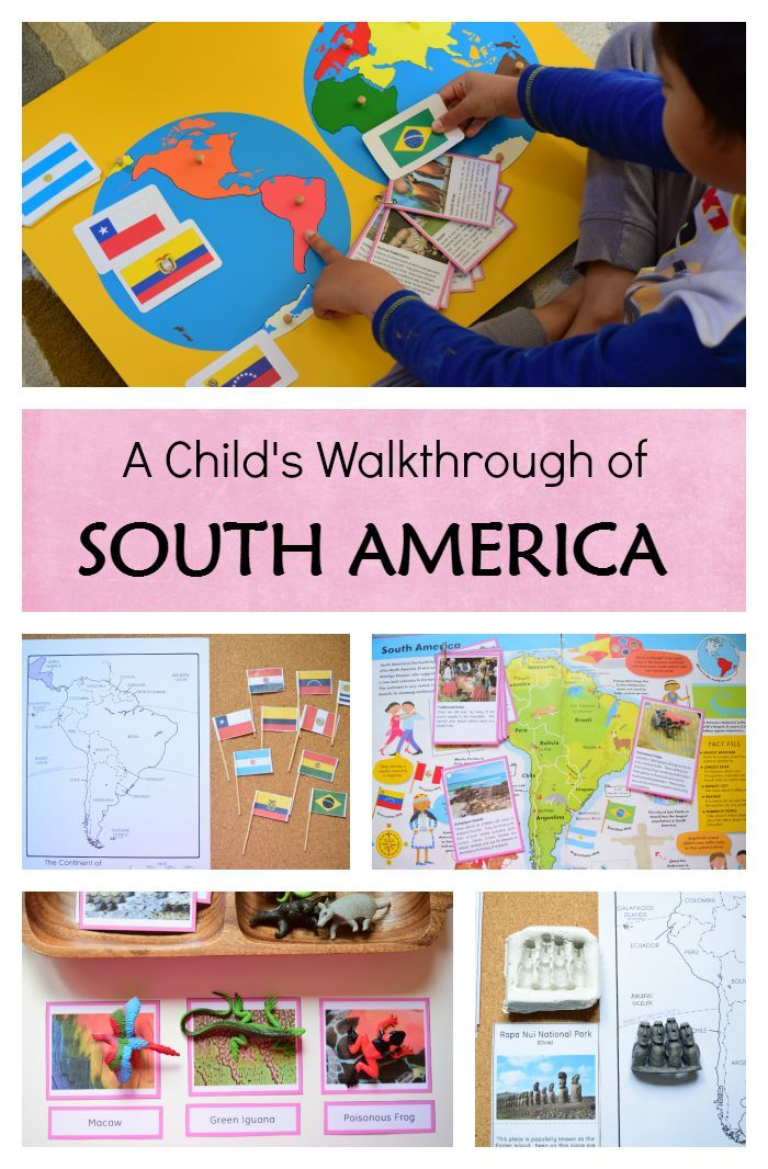 Continent Study of South America Language Teaching Pinterest