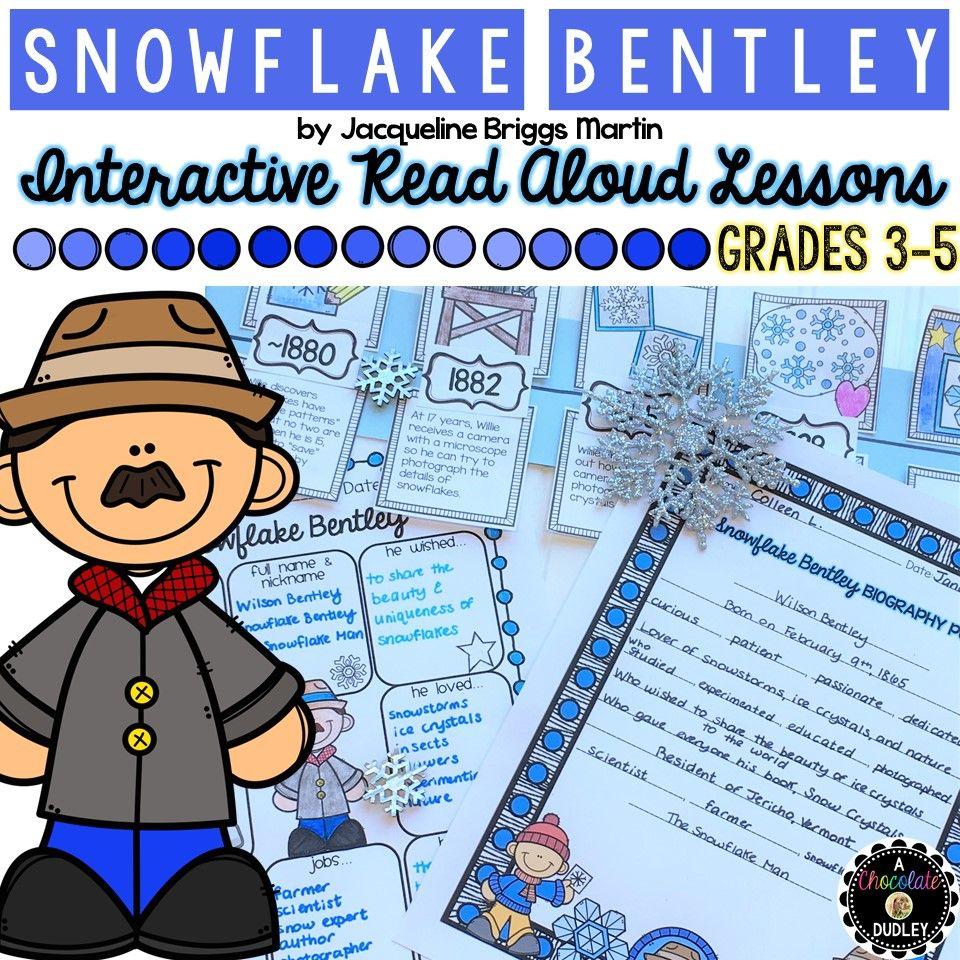 Snowflake bentley activities snowflake bentley