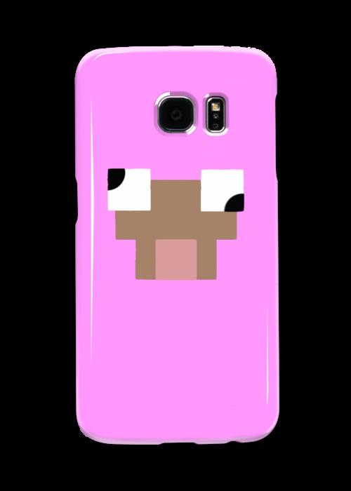 Minecraft Pink Sheep Phone Case