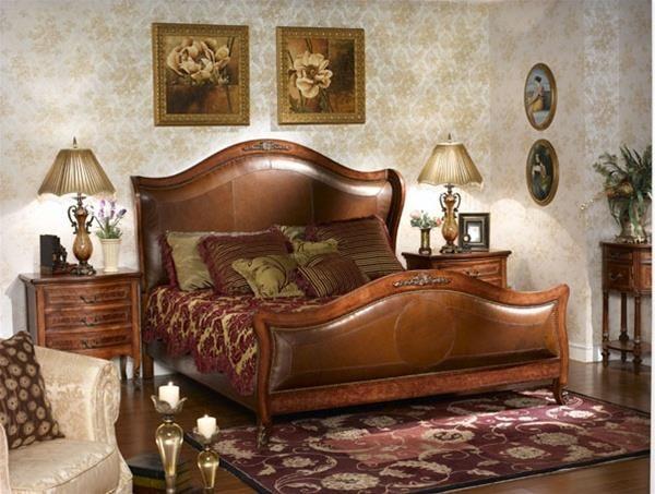 Louis XVI King Bed- Bedroom Furniture LV-881-BED h1Louis XVI King