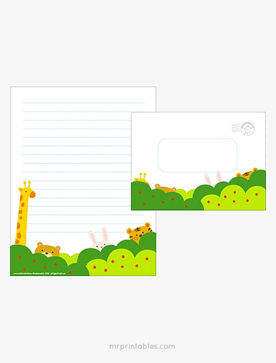Forest Writing Paper Set - Mr Printables Bible Pinterest - free printable writing paper