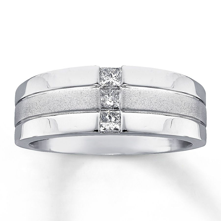 27f5a2a881d07 white gold rings with square diamonds for men