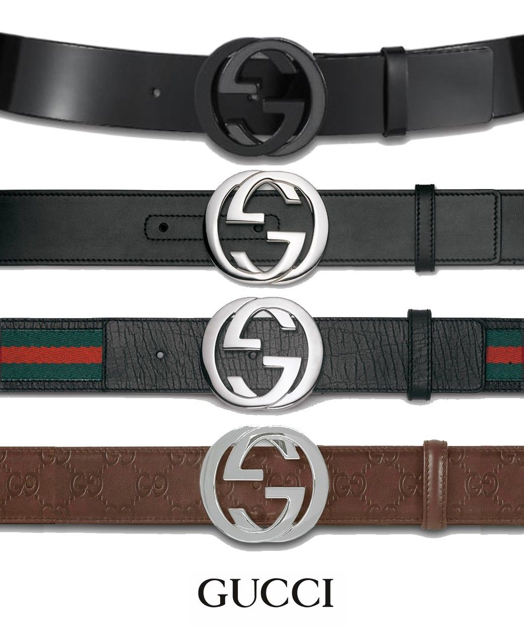 gucci belt ,love them all!