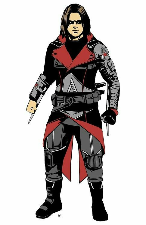 Winter soldier assassins creed | Mashup or crossover