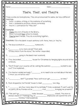 Don\'t be Homophone Hopeless | Grammatik und Klasse