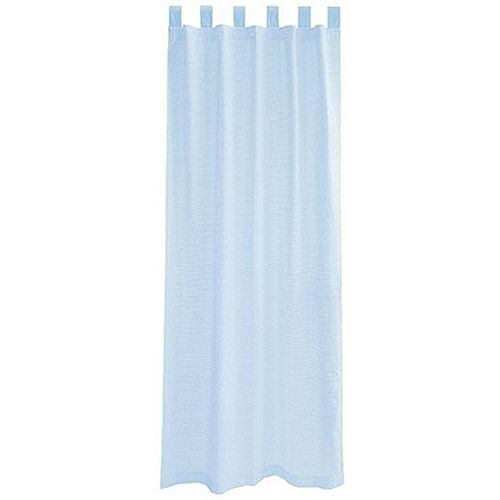 Seed Sprout Basics Tab Top Curtains (2 Panels), Blue Gingham