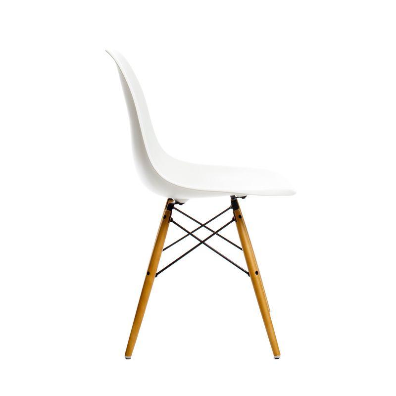 Eames Plastic Chair Dsw Pieds Bois Vitra À Partir De 319.60 Euros
