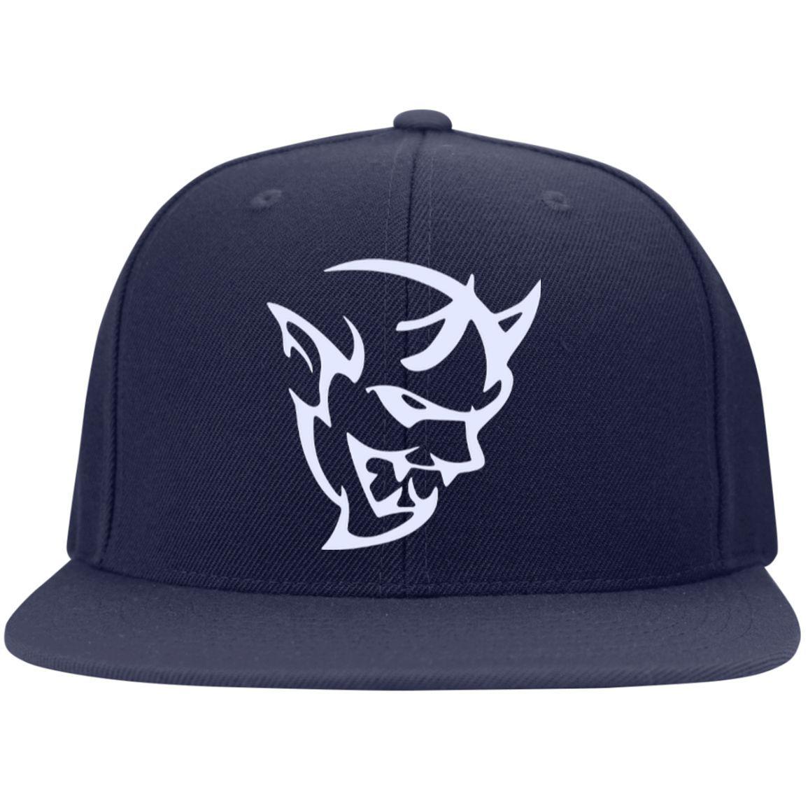 DODGE DEMON 2 STC19 Sport-Tek Flat Bill High-Profile Snapback Hat