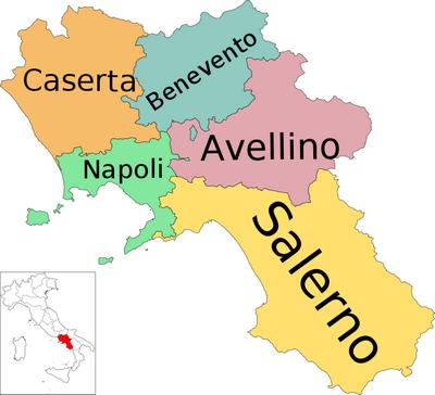 Cartina Fiumi Campania.A Detailed Map Of Campania Italy Campania Italy Campania Italy Map