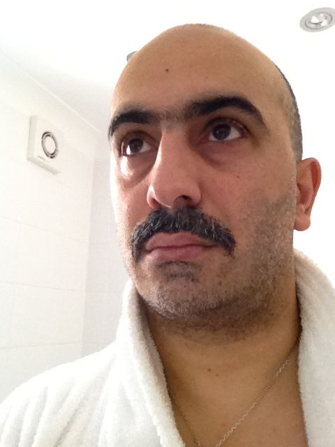 One of the main j-me men showing how manly he is! #Movember