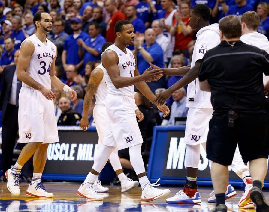 Perry Ellis and Wayne Selden in win against Kentucky Big