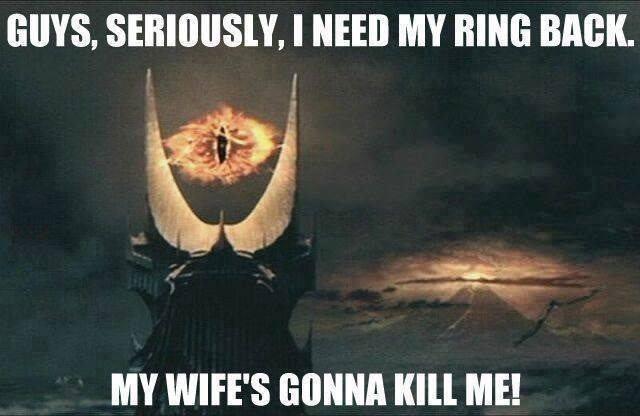 LOL whipped Sauron! =D