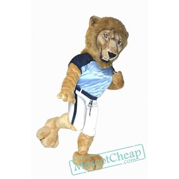 2a738b737 College Lightweight Lion Mascot Costume   Animal Mascot Costumes ...