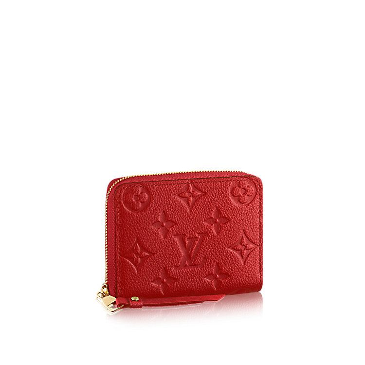 Zippy Coin Purse Monogram Empreinte Leather - Small Leather Goods   LOUIS  VUITTON a7547b97fd4