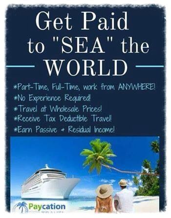 Come Sea the world with us! Become a Certified Travel ...