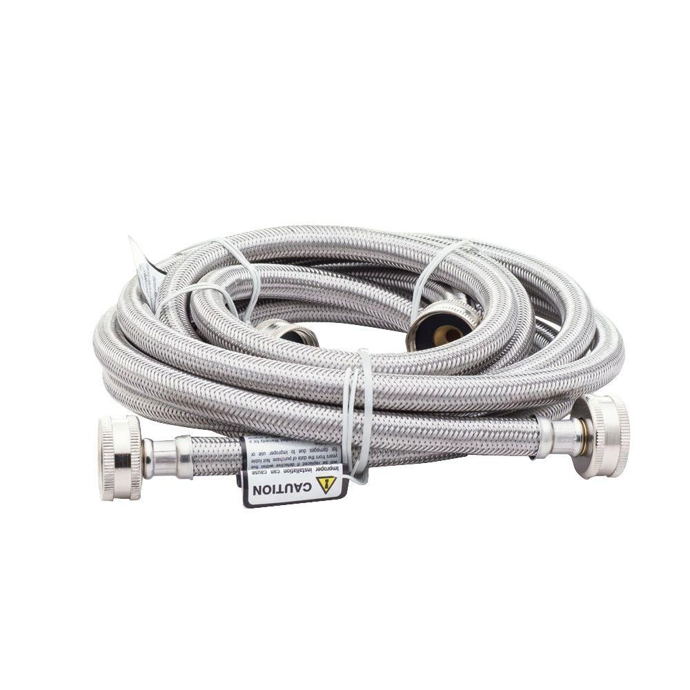 Smart Choice 6 Ft Stainless Steel Fill Hose 2 Pack 5304490736