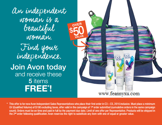 To save/sell or buy Avon, visit www.feannyxu.com  No inventory, quota, pre-payment or auto-ship.  For $10, you can have your own Avon business and start with 25% savings for your personal order! #AvonCanada #joinAvon #workfromhome #residualincome #enjoythefreedom #makingnewfriends #lovewhatyoudo #dowhatyoulove #DreamBig