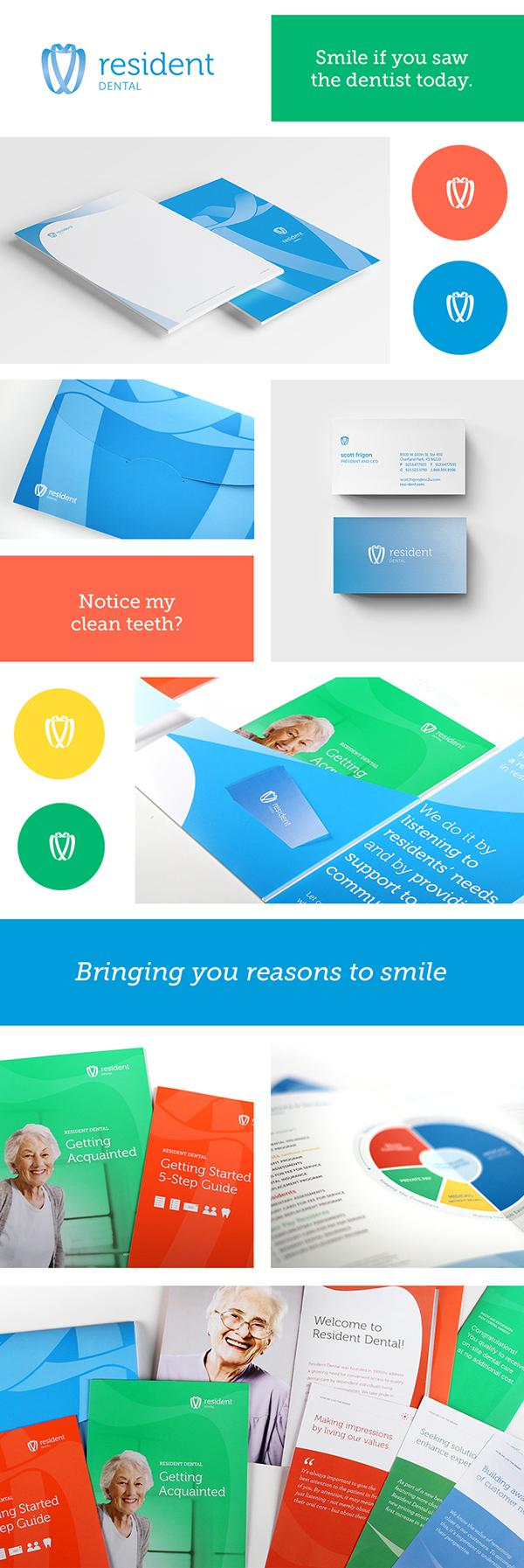 Resident Dental Branding on Behance