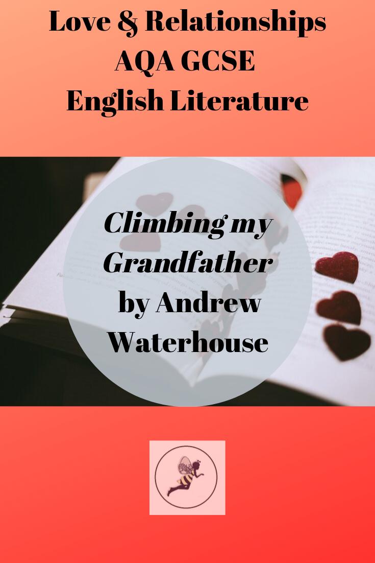Climbing My Grandfather | Poetry | Teacher notes, Aqa