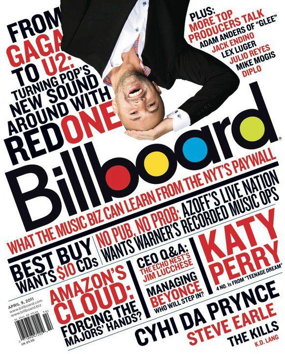 RedOne cover of Billboard Magazine | Press / Buzz | Magazine