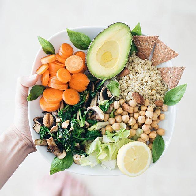 ☀✨ #vegan #bowlfood #vegetarian #eatclean
