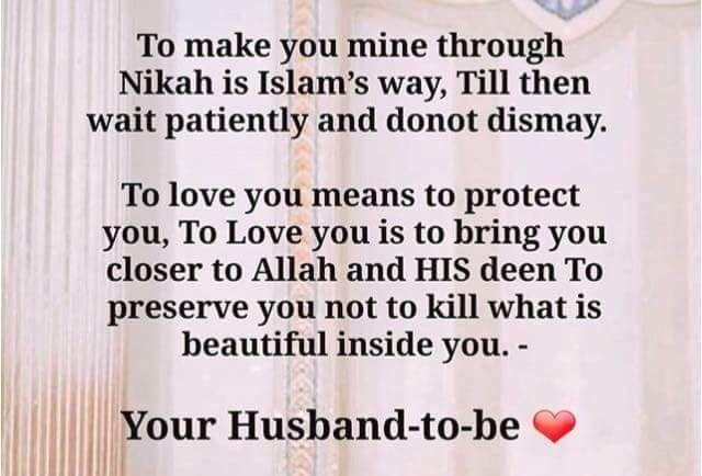 How Sweet Husband Wife Marriage Muslim Islam Piouscouple Love