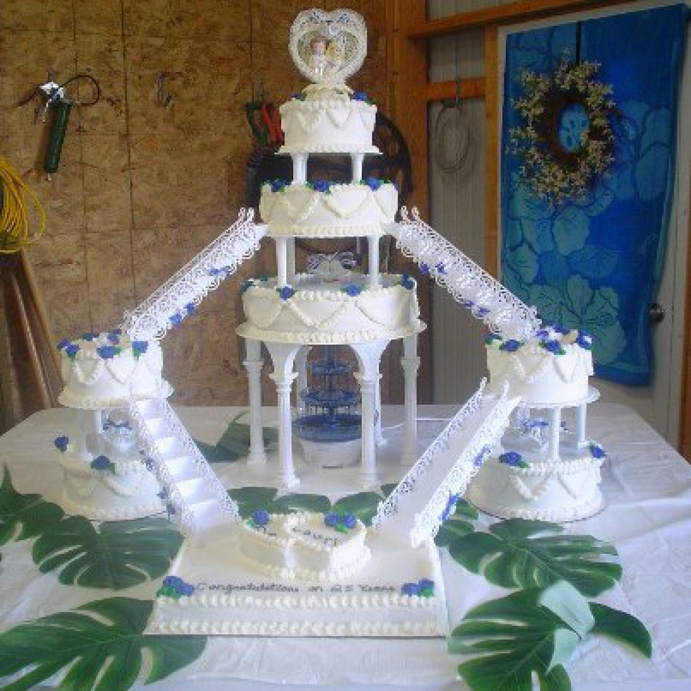 80s wedding cake this is what we called wedding cake in the 70s and 80s 10512
