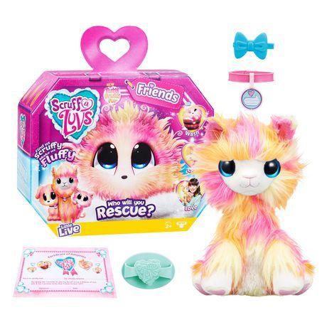 Little Live Scruff A Luvs Tutti Frutti In 2020 Fluffy Stuffed Animals Little Live Pets Toys For Girls