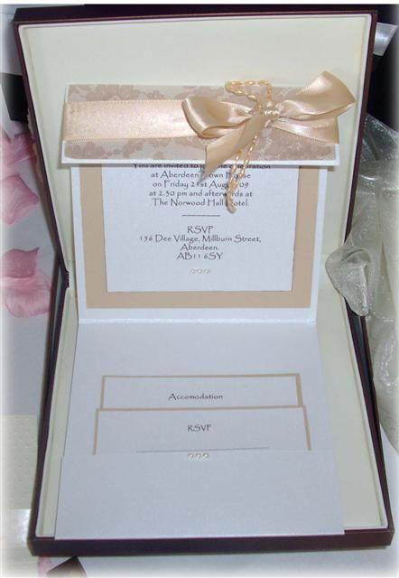 Avintage Lace Boxed Wedding Invitation Box Wedding Invitations Box Invitations Invitations