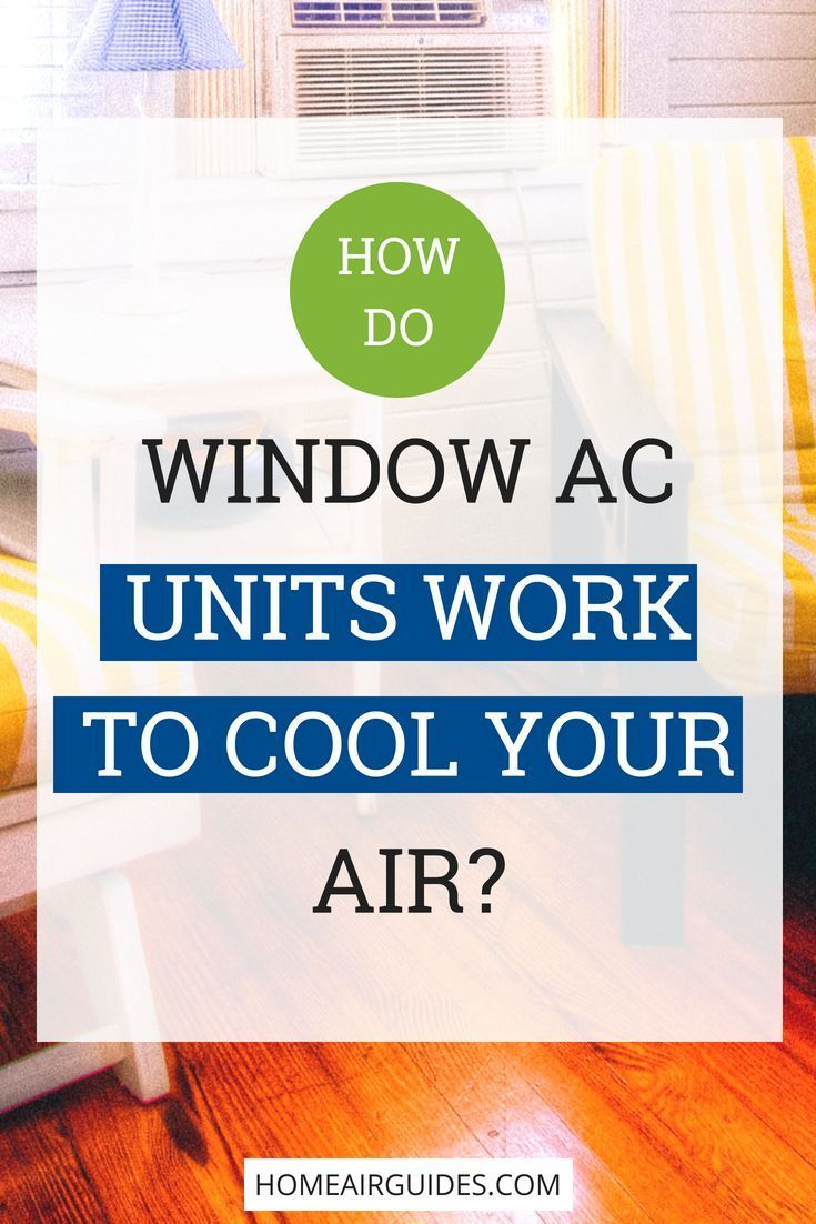 How Does a Window Air Conditioner Work? Window air