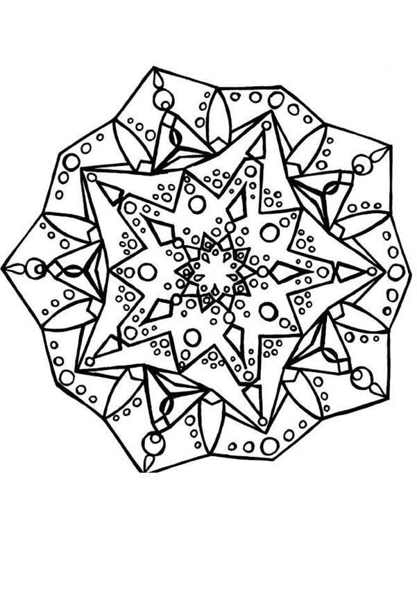 Coloriage mandala en forme de fleur tr s joli colorier de mille couleurs pour un rendu - Coloriage fleur tres jolie ...