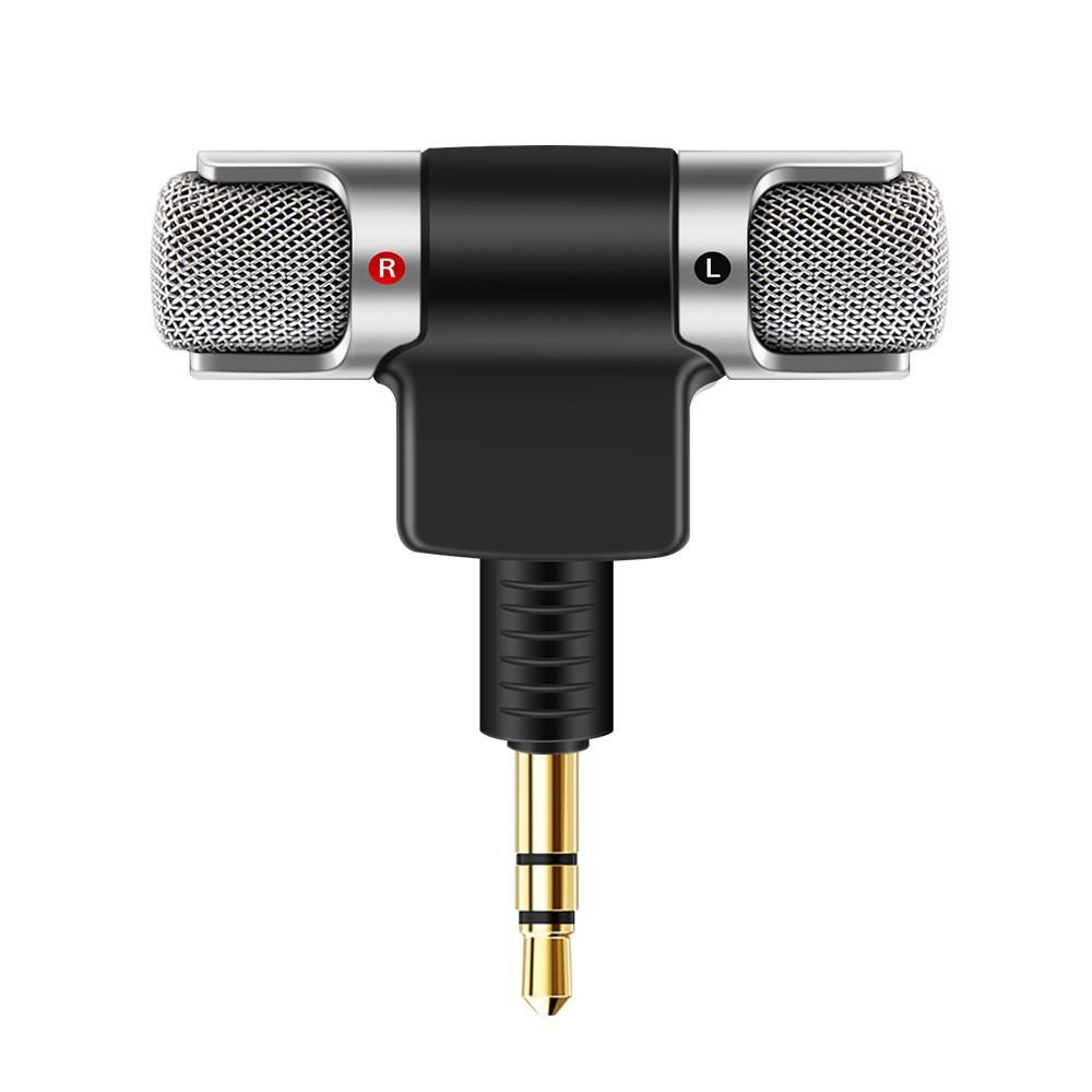 FORNORM Mini Recording Microphone Portable With 3.5mm