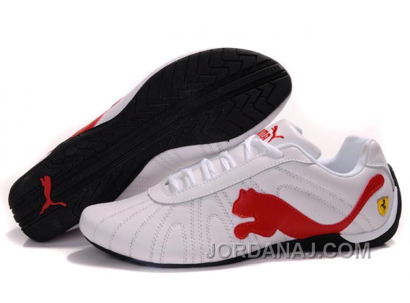Puma Ferrari Big Cat Shoes Black Red White For Sale, Price