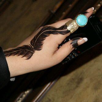 صور نقش حناء 2016 رمزيات خلفيات نقش حناء 2016 Turquoise Ring Gemstone Rings Mehendi Designs