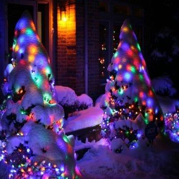 KWB LED Solar Christmas Lights 7M 50Balls Fairy Decorative String - solar christmas decorations