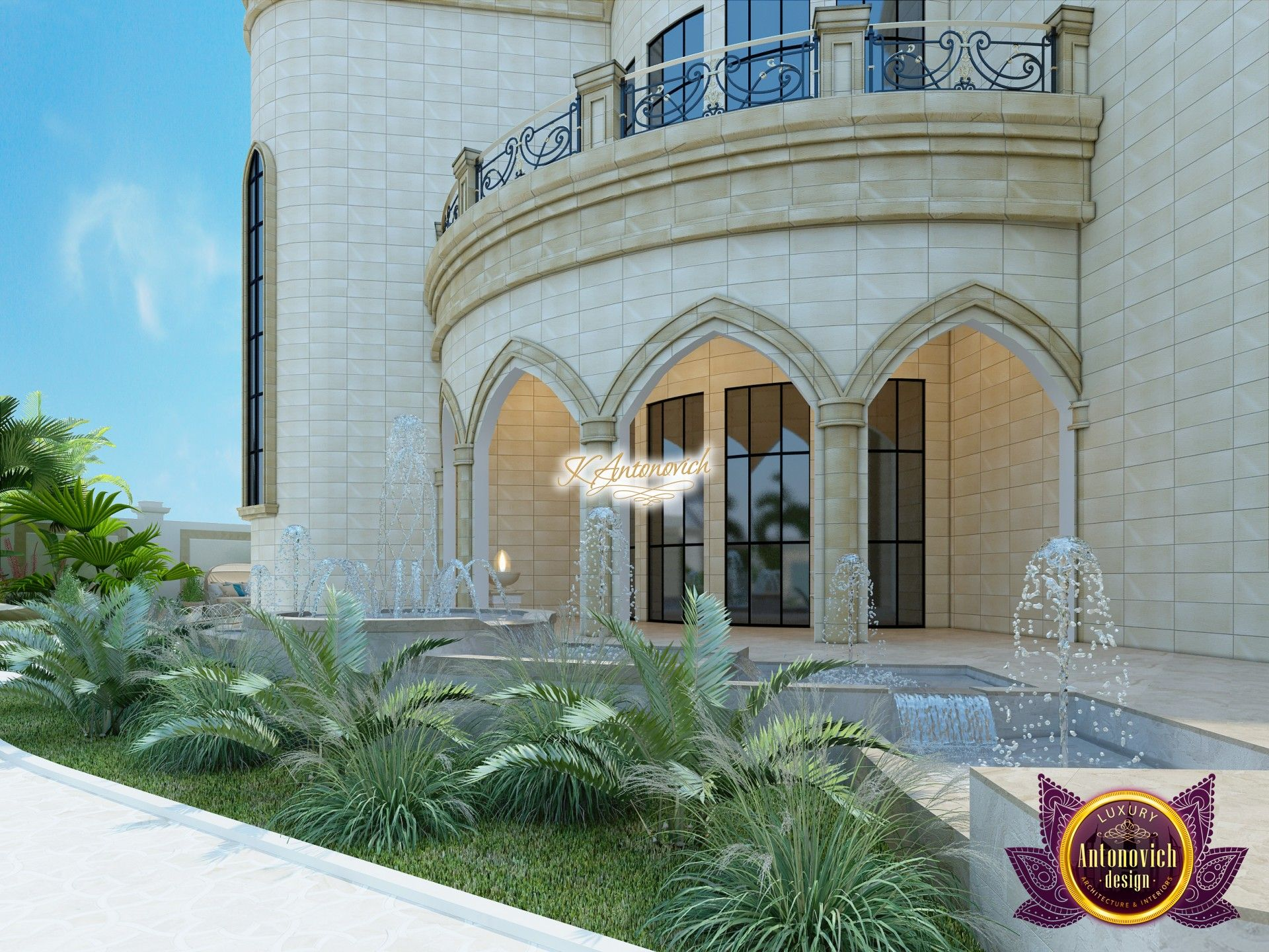 Fabulous Facade Design in UAE   Luxury exterior, Facade ...