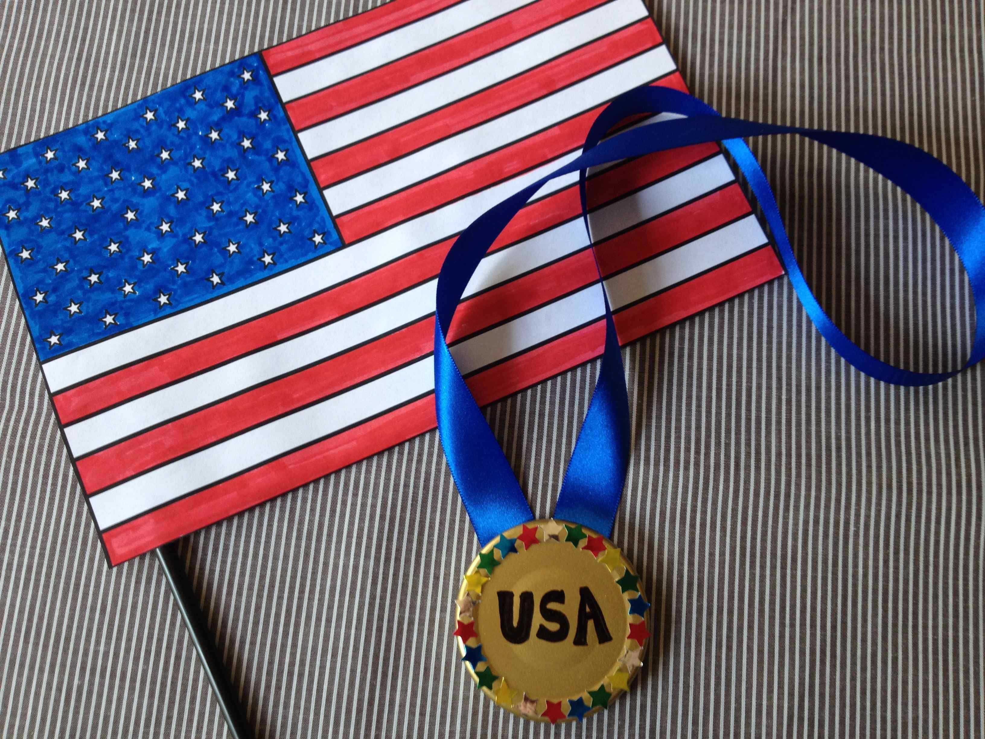 Fun Olympics Crafts For Kids With Added Storytime Books