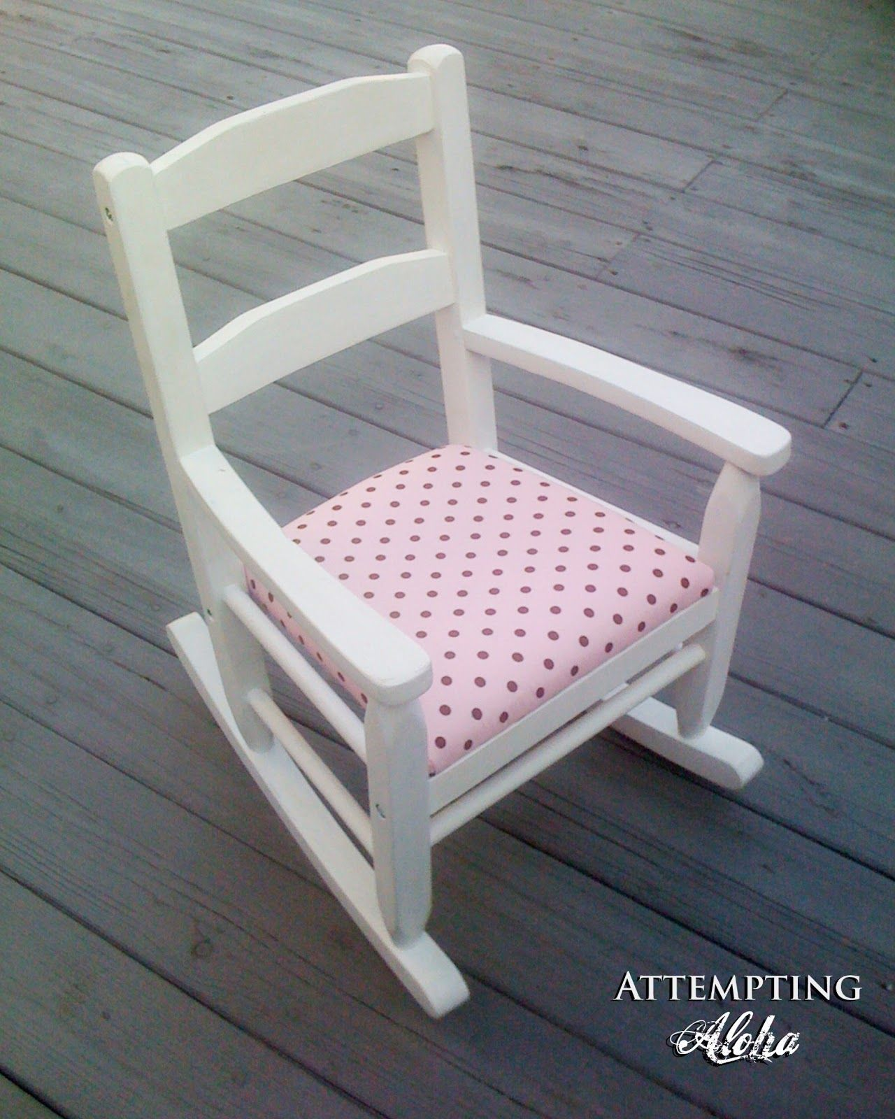 Attempting aloha the little rocking chair that could