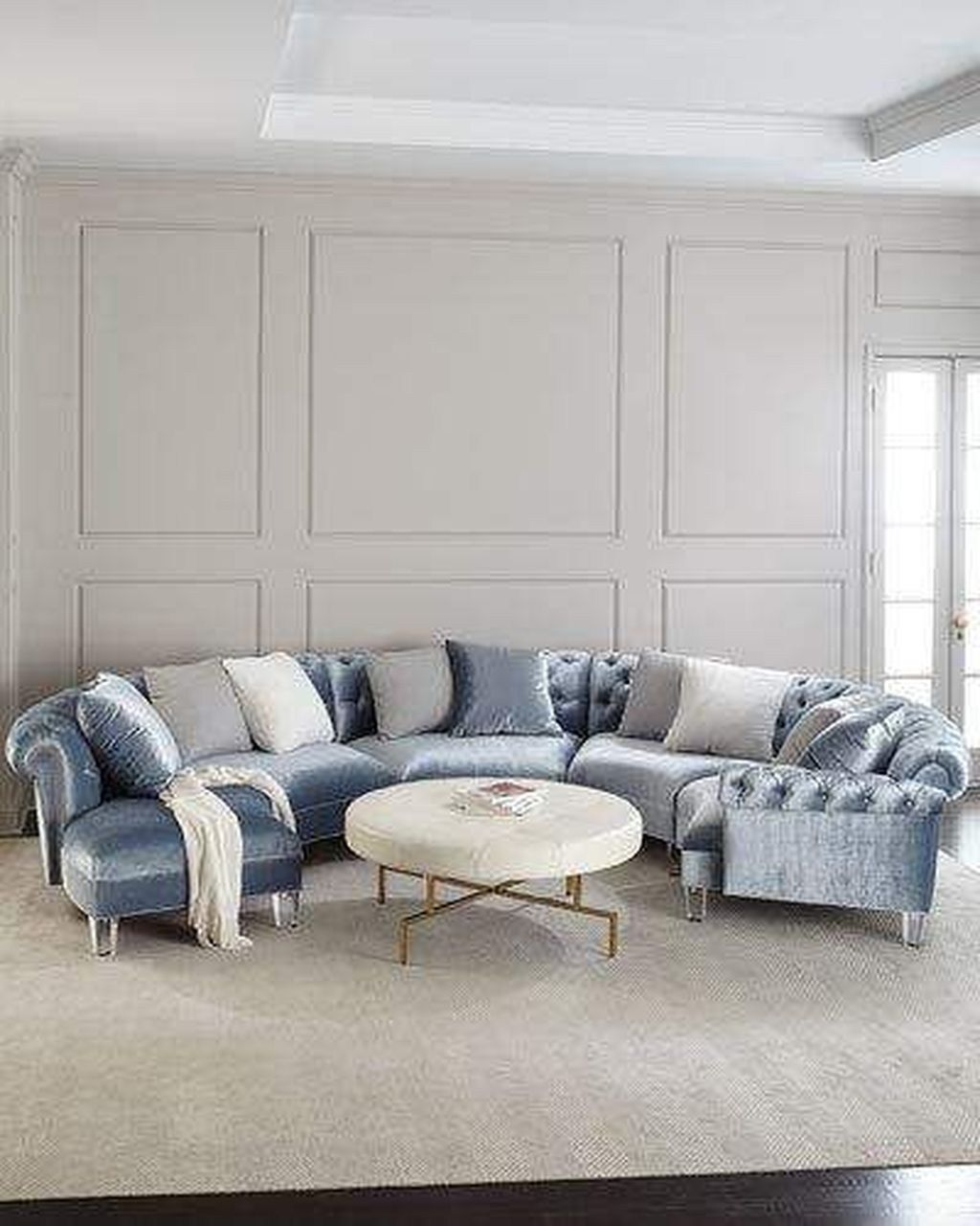 IdeasLiving Curved Designs Sectional Sofa Room 20Amazing PnwO8k0