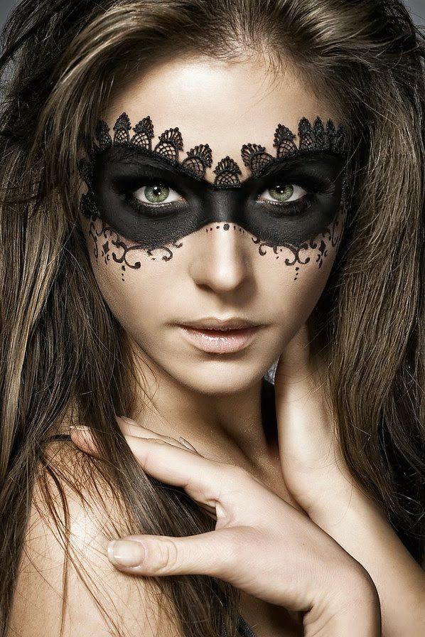 20 Pretty Halloween Makeup Ideas To Try Easy halloween makeup - halloween makeup ideas easy