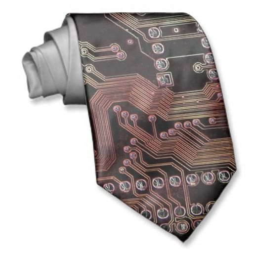 electronic circuit neck tie zazzle pinterest electronics