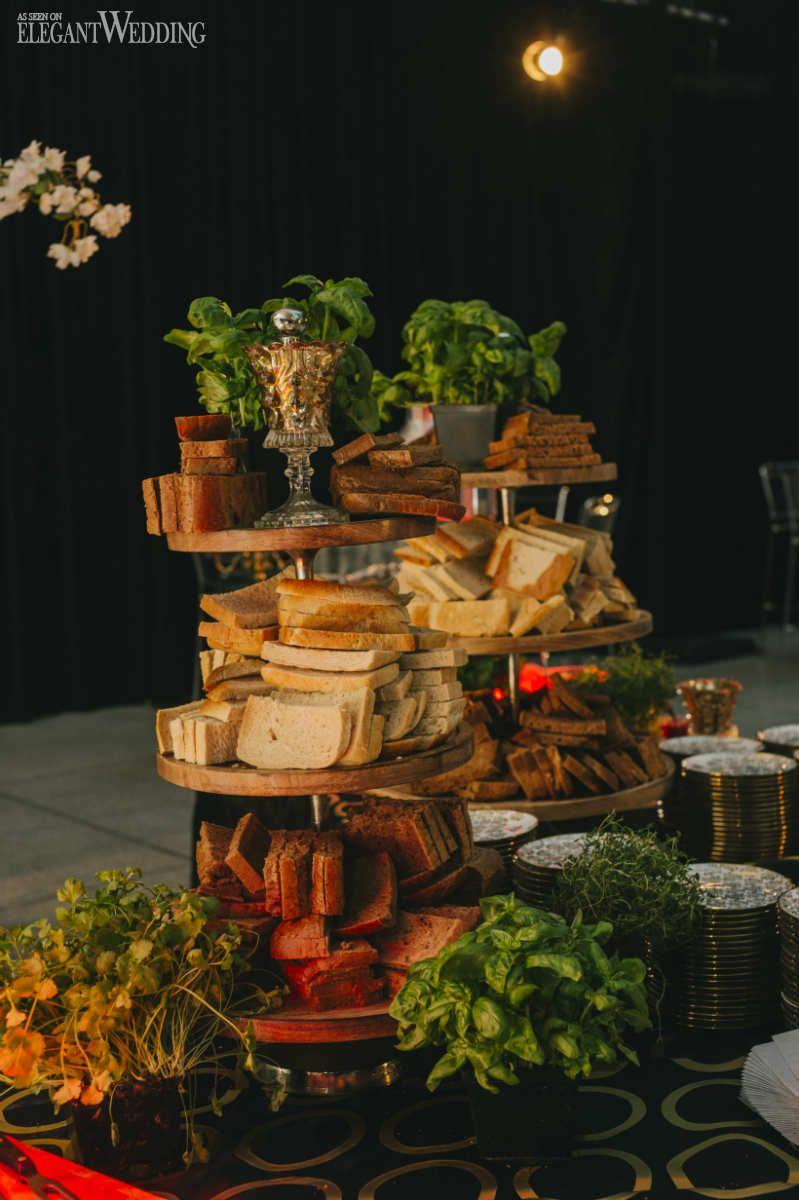 Insanely Gorgeous Industrial Garden Wedding   Wedding food ...