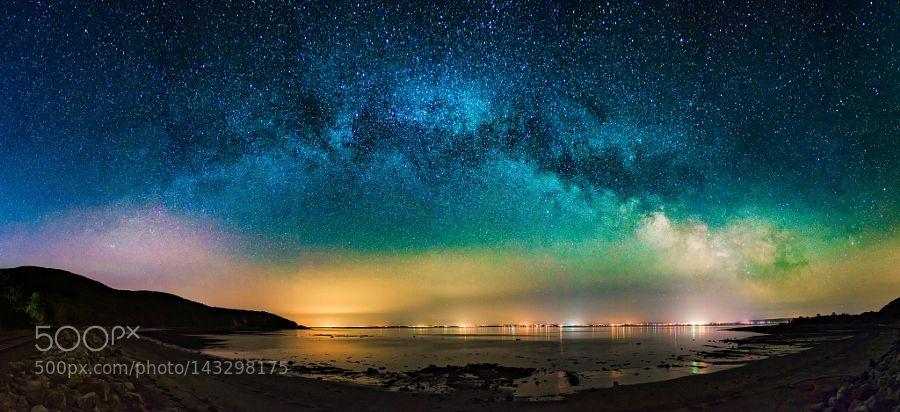 Voie Lactée à Charlevoix by fredbeaupre. @go4fotos