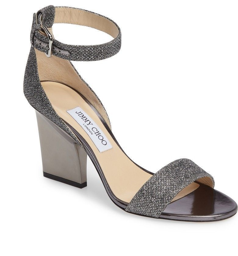 7957557ec24 Main Image - Jimmy Choo Edina Ankle Strap Sandal (Women)