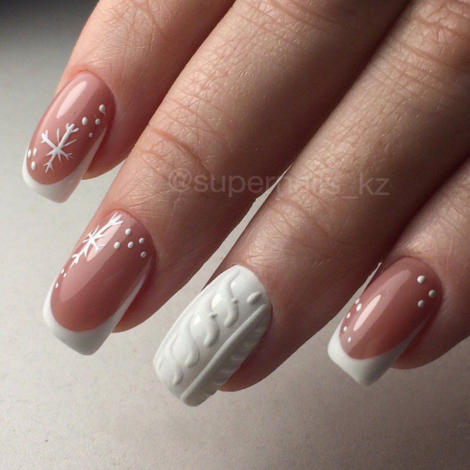 Nail Art #3801 - Best Nail Art Designs Gallery | White french nails ...