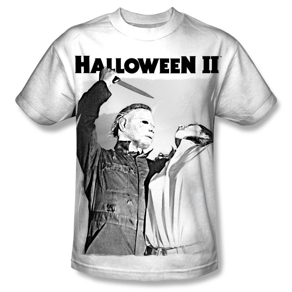 Serial Serenade Adult Black Back 100/% Poly T-Shirt Halloween Ii