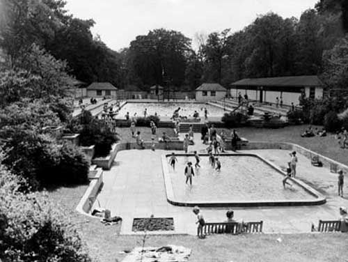 Roundhay Park Outdoor Pool Open Air Swimming Pool Leeds City Leeds
