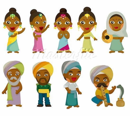 Cartoon Characters For Kids : Indian cartoon india kids top native american