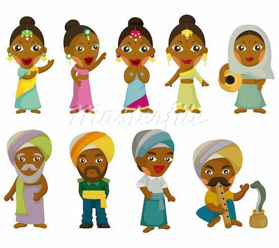 Cartoon Characters For Kids : Indian cartoon india kids top native american